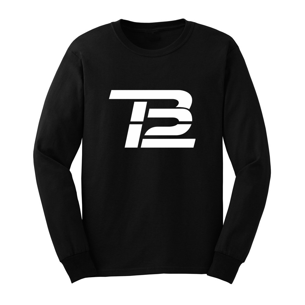 Loo Show Mens Tom Brady TB12 Long Sleeve T-Shirts Casual Men Tee-BN
