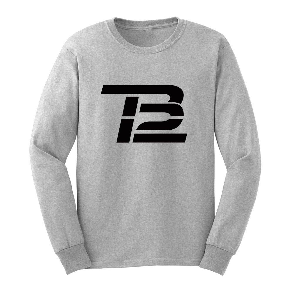 Loo Show Mens Tom Brady TB12 Long Sleeve T-Shirts Casual Men Tee-BN