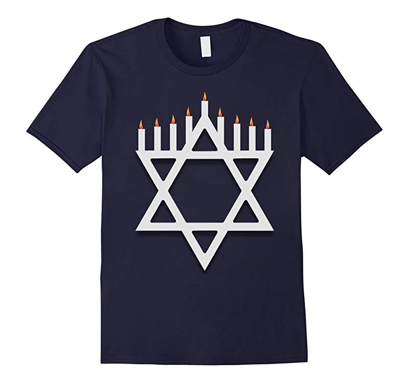 Awesome Happy Hanukkah T-Shirt-RT