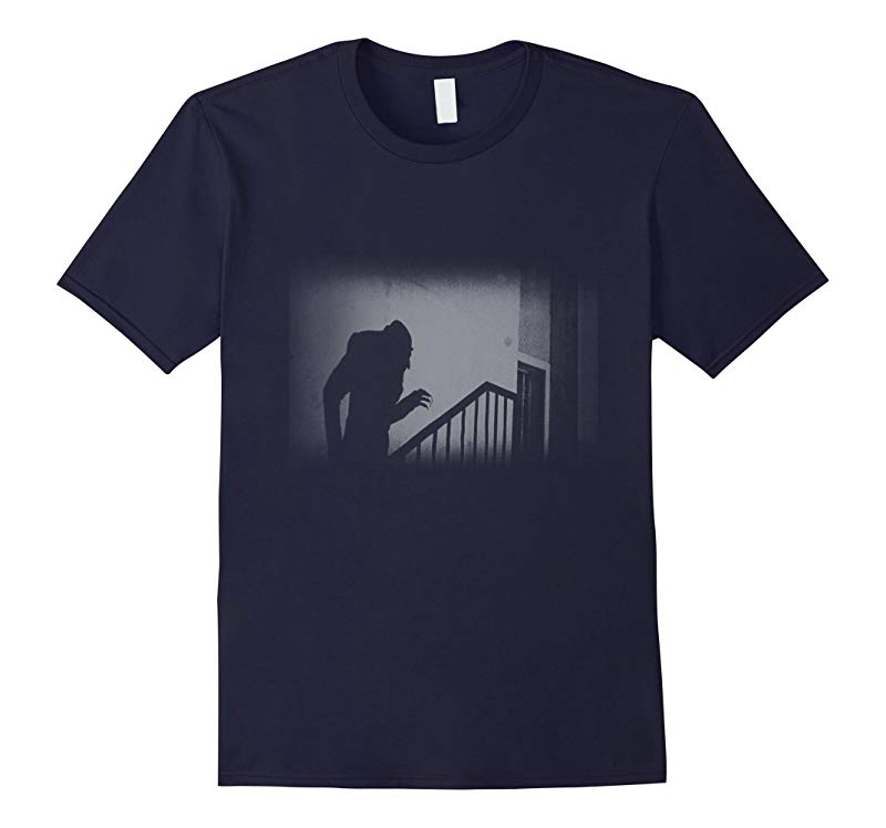 Nosferatu Vampire Classic Horror Black T-Shirt Dracula Men-RT