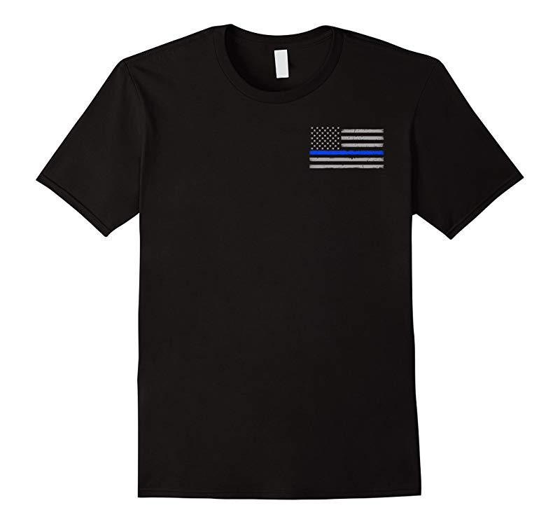 Blessed Are The Peacemakers Thin Blue Line Shirt-RT