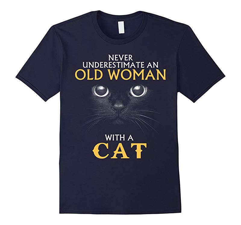 Cat Costume Never underestimate an old woman with a cat-RT