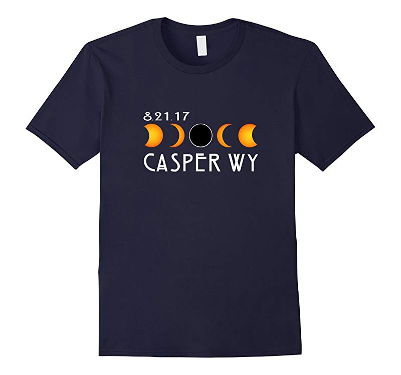 Casper Wyoming Kentucky Total Solar Eclipse 2017 T-Shirt-BN