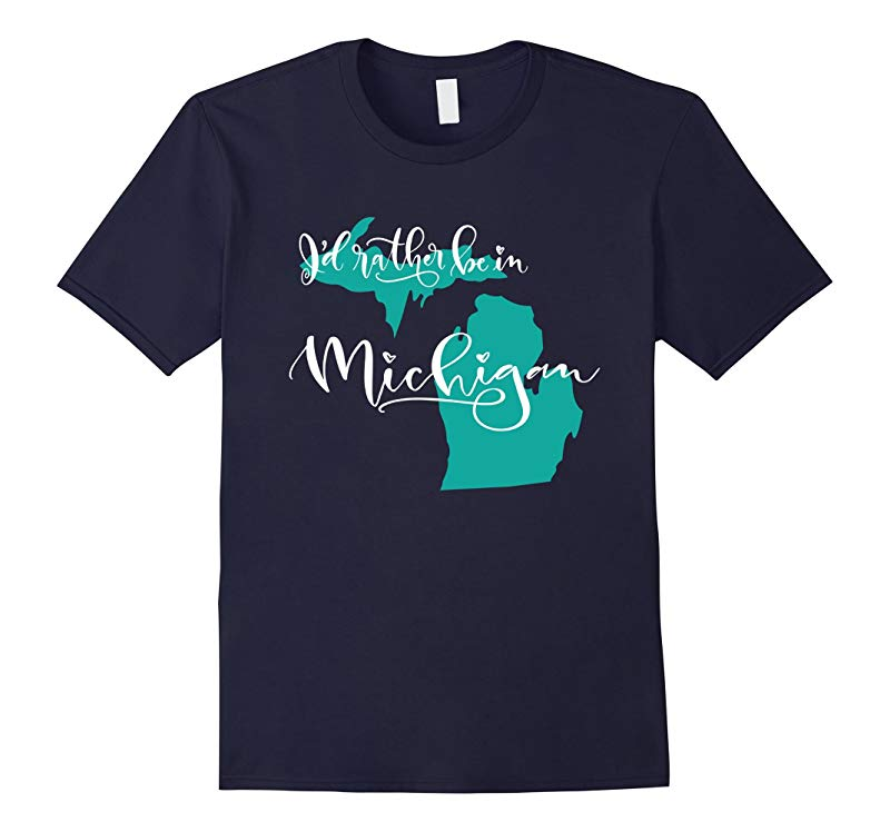 Id Rather be in Michigan State T-shirt-PL