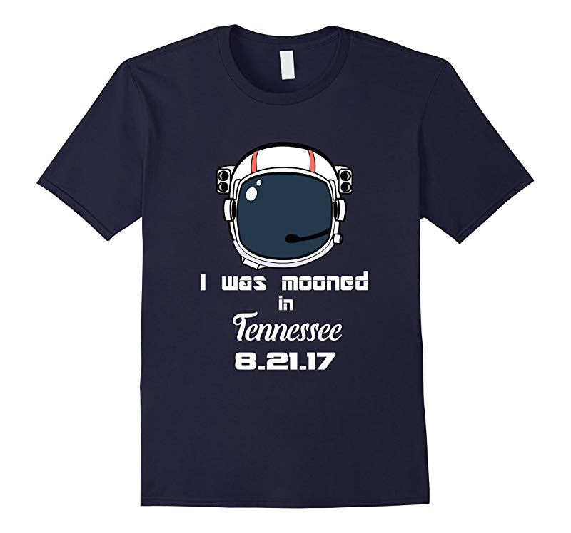 2017 Total Solar Eclipse t-shirt Tennessee I was Mooned-BN