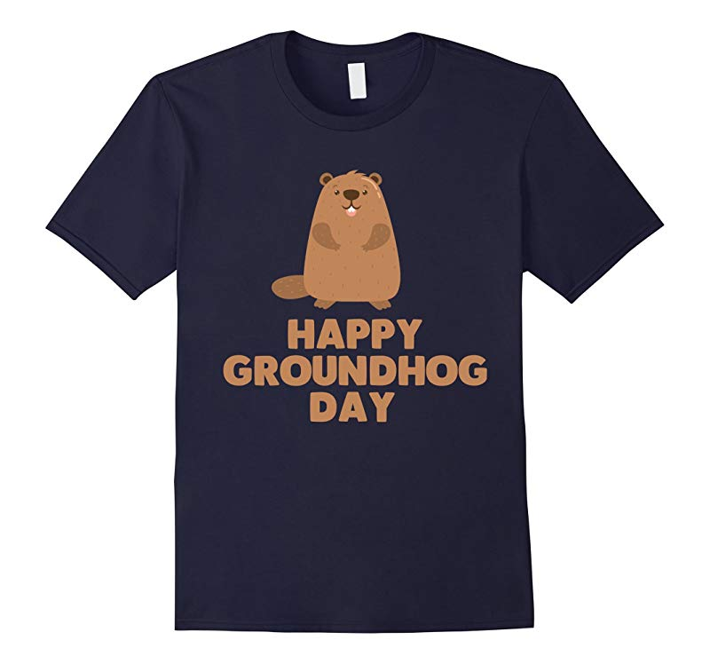 Awesome and Funny Happy Groundhog Day Shirt-RT