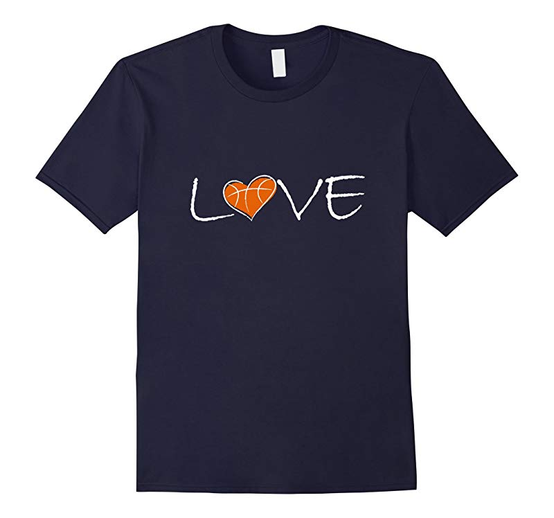 Love Basketball T-shirt for Players Fans or Teams-RT