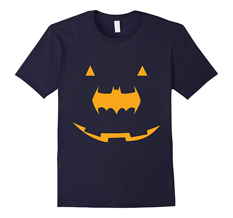 Bat man Pumpkin Halloween Costume Party Horror Gift T-shirt-RT