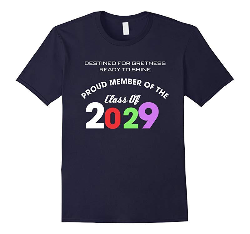 Class Of 2029 T-Shirt Kindergarten Pre-K-RT