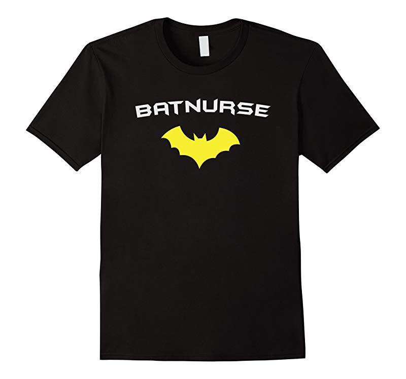 BATNURSE - Super Hero Nurse Medical RN T Shirt-RT