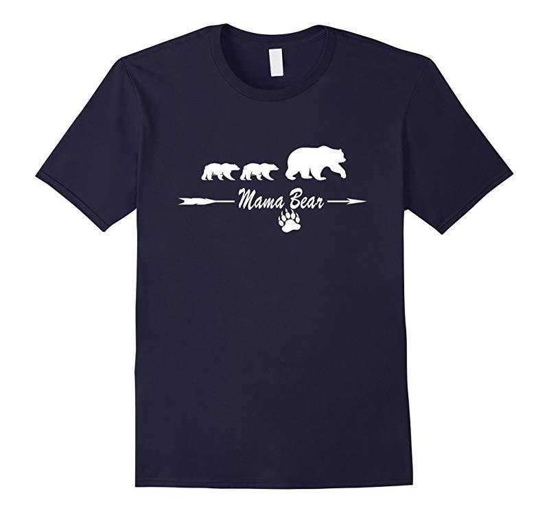 Mama Bear Family T-shirt-RT