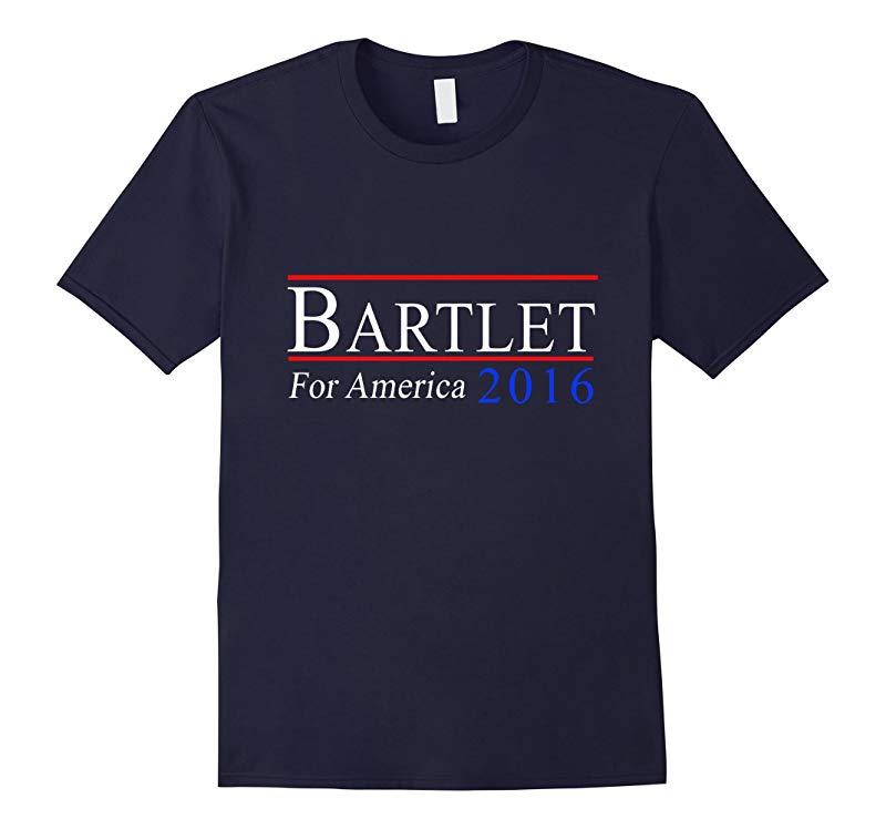 bartlet for president 2016 general election t shirt-RT