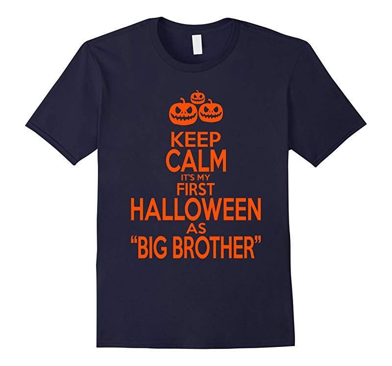 Its My First Halloween As BIG BROTHER T-shirt-RT