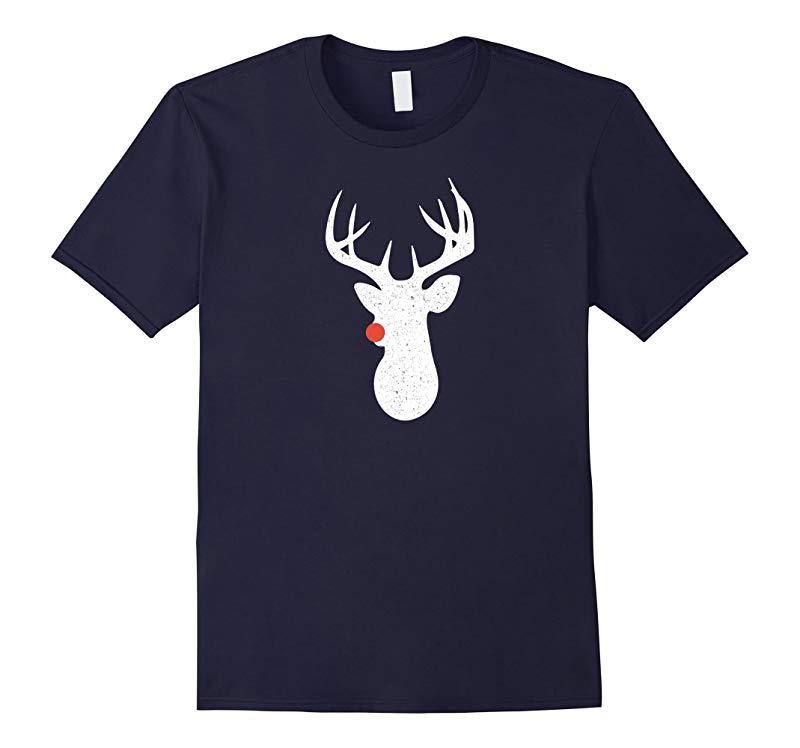 Christmas Reindeer Shirt Vintage Funny Holiday Tee-RT