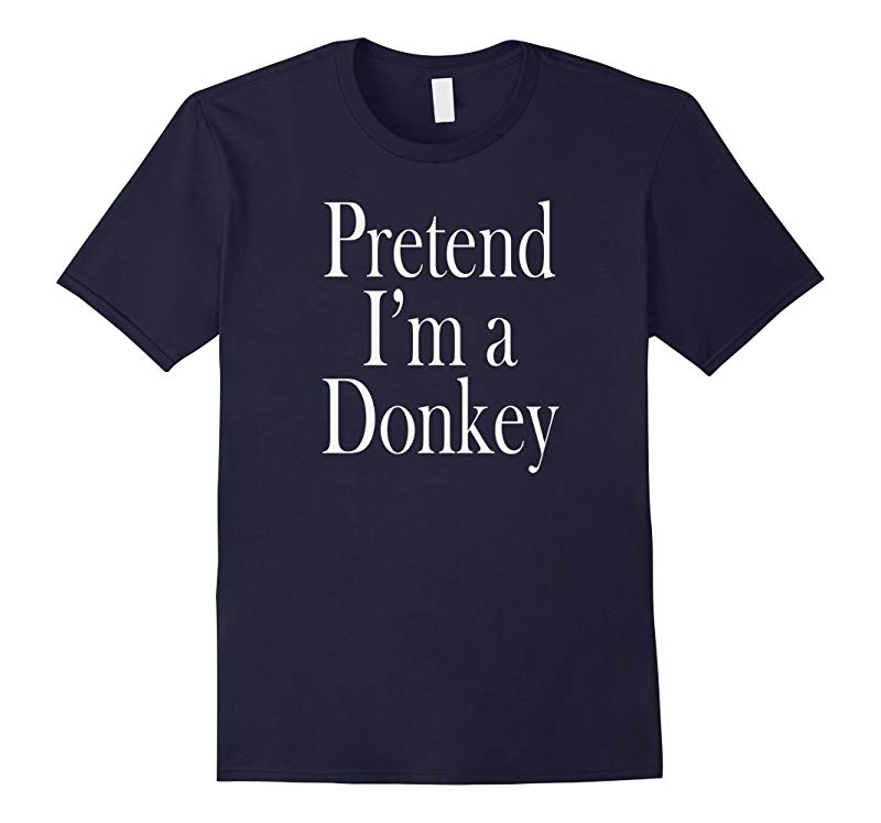 A Donkey Costume T-Shirt for the Last Minute Party-RT