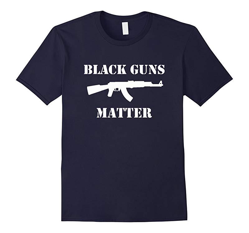Black Guns Matter AK-47 T-Shirt-RT