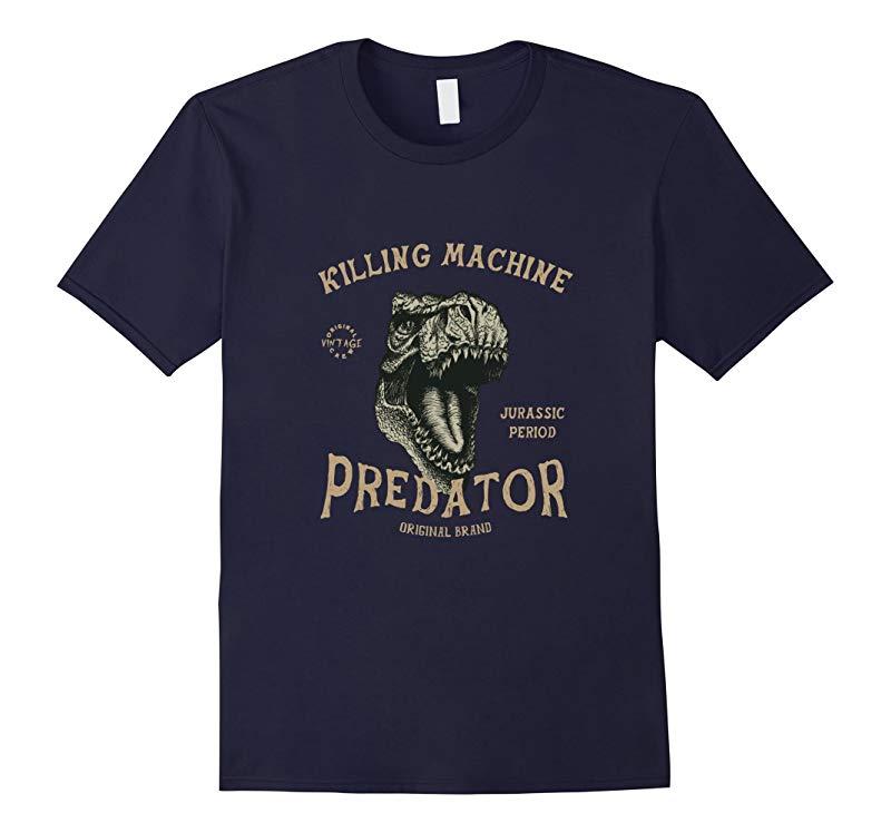 Killing Maching Jurassic Period Predator T-Rex Dinosaurs Tee-RT