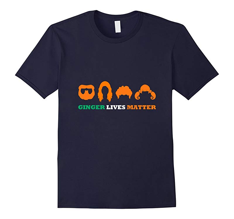 Ginger Lives Matter Shirt  Original Irish Paddys Day Shirt-RT