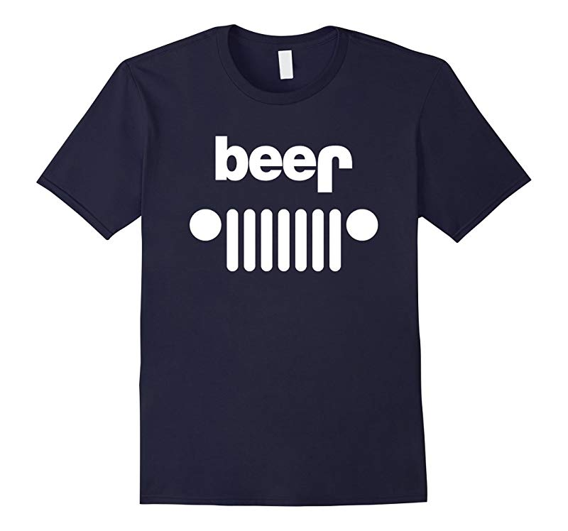 Adult Beer Jeep Funny Drinking T-Shirt Off Roading-RT