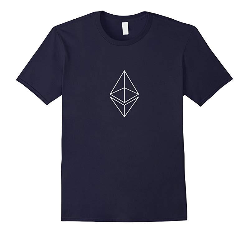 Ethereum Premium White Diamond T Shirt  Spread the ETH love-RT