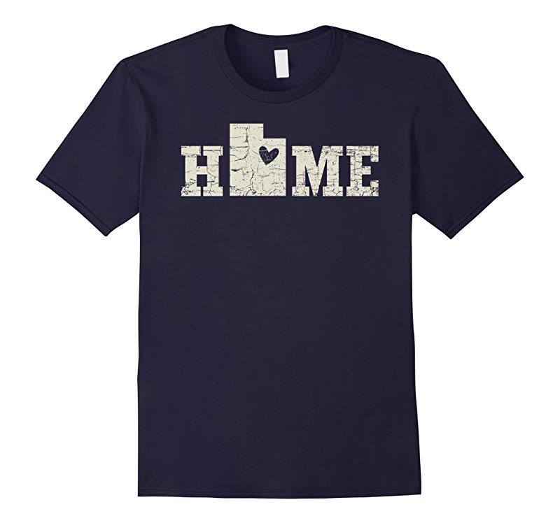 Utah Home Shirt Love Native Born State T-Shirt-CD