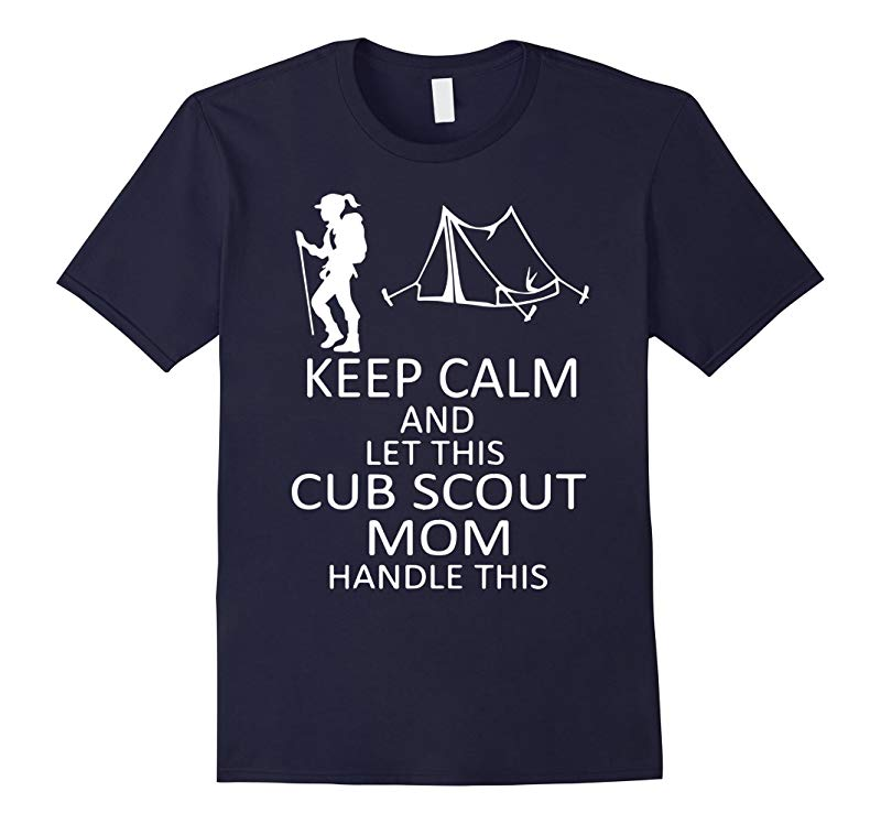 Let This Cub Scout Mom Handle This Scout shirt-RT