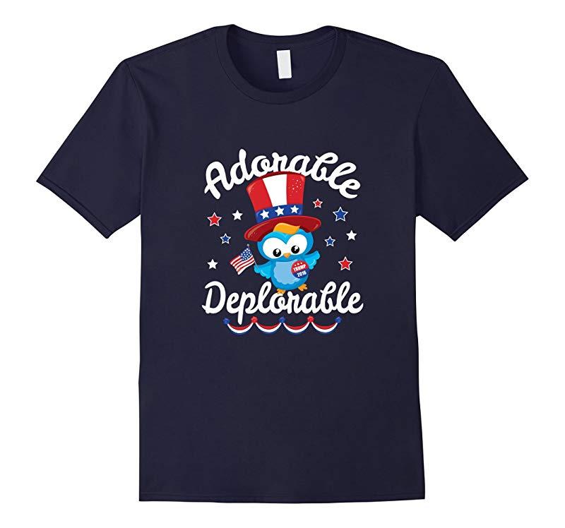 Basket of Deplorables T-Shirt - Adorable Deplorable Owl-RT