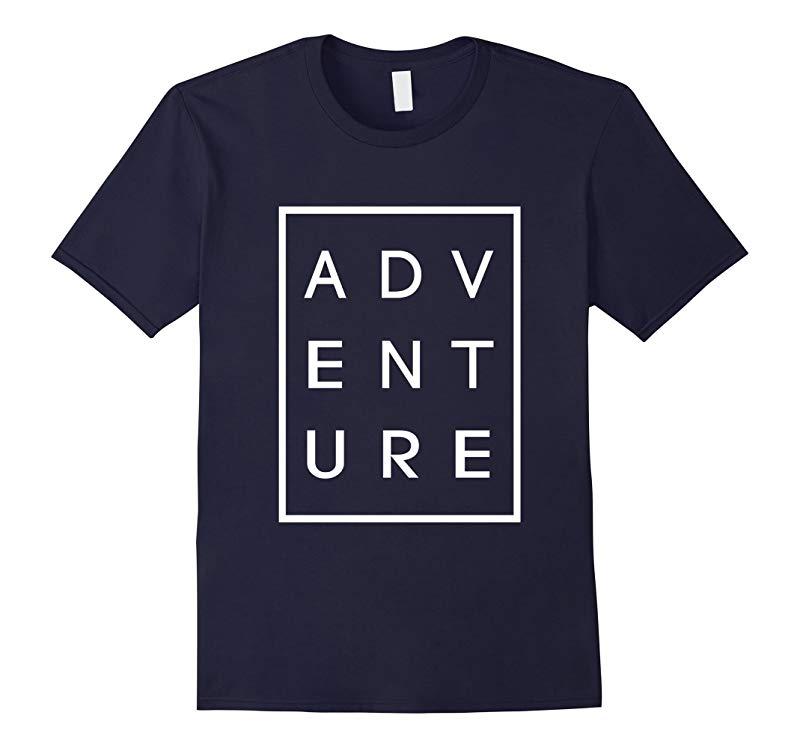 Adventure Black Graphic Unisex Tee-RT