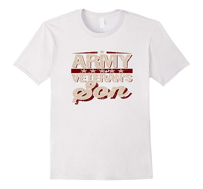 Veterans Day Gifts Patriotic Army Son Military T Shirt-RT