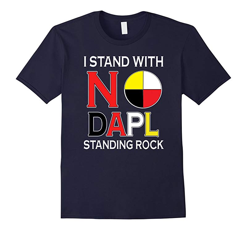 Standing Rock Water is Life No DAPL All Life Tshirt-RT