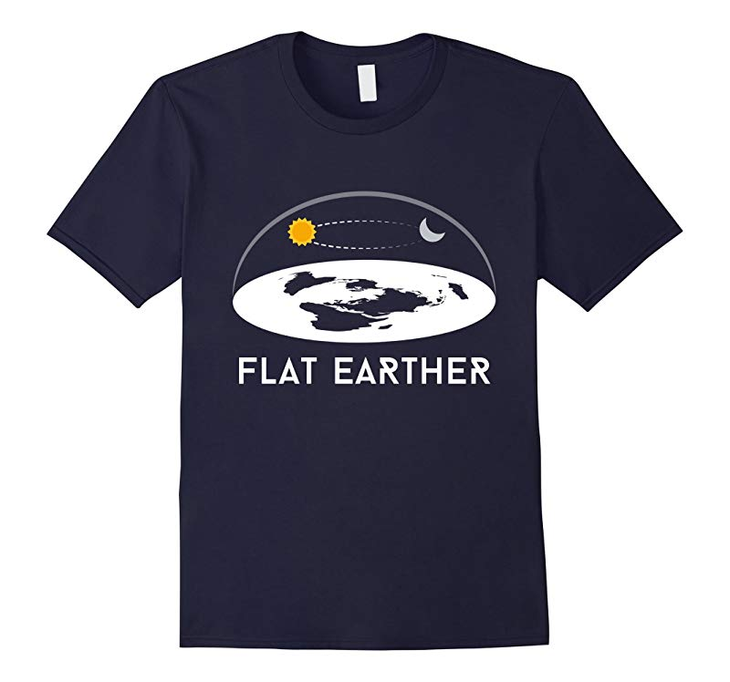 Flat Earther T-Shirt Flat Earth Theory Society Tee-FL