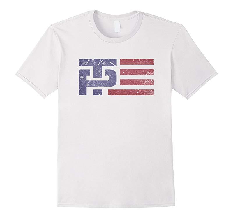 Trump Pence Vintage Tp Flag T Shirt-axz