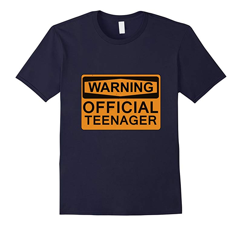 13th Birthday Gifts Funny Official Teenager T-Shirt-RT