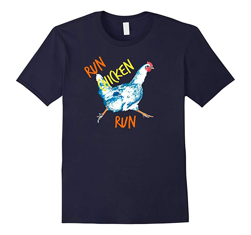 Run Chicken Little Run Color Laday Premium Art T-shirt 65-RT