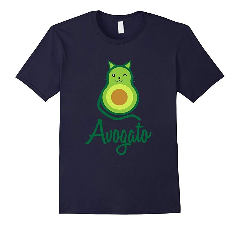 Avogato Cinco De Mayo Avocado T Shirt Kitty Cat Funny Meow-RT