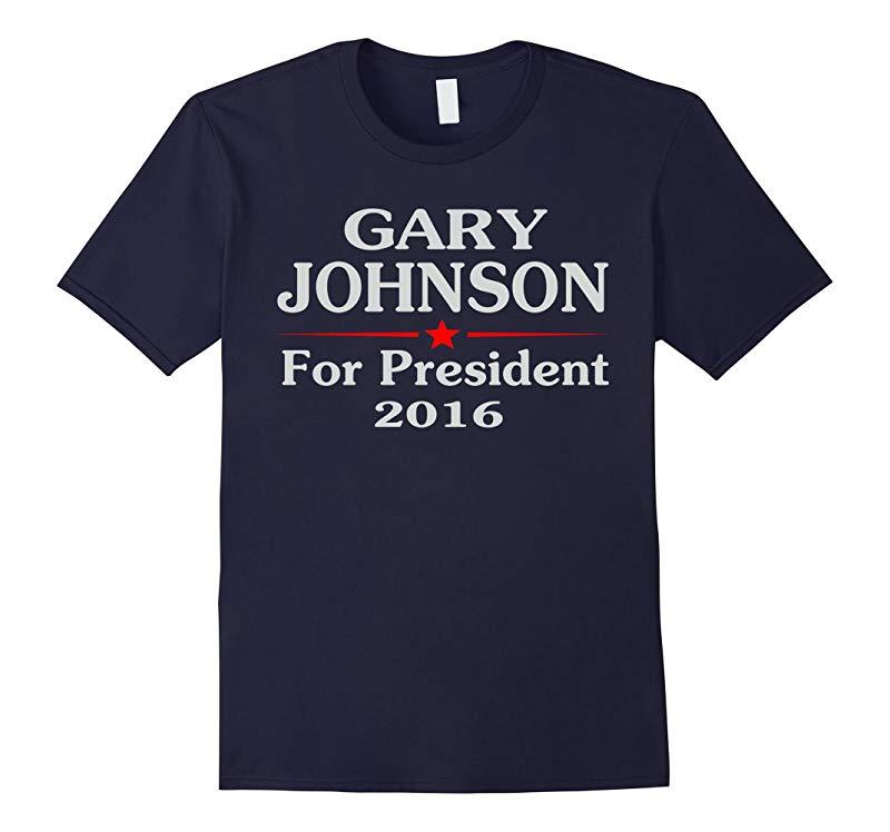 gary johnson for president mens t shirt-RT