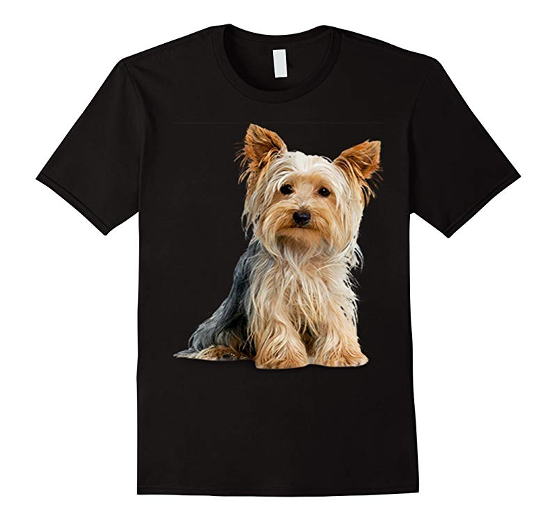 Yorkie Yorkshire Terrier on a Tee Shirt-Art