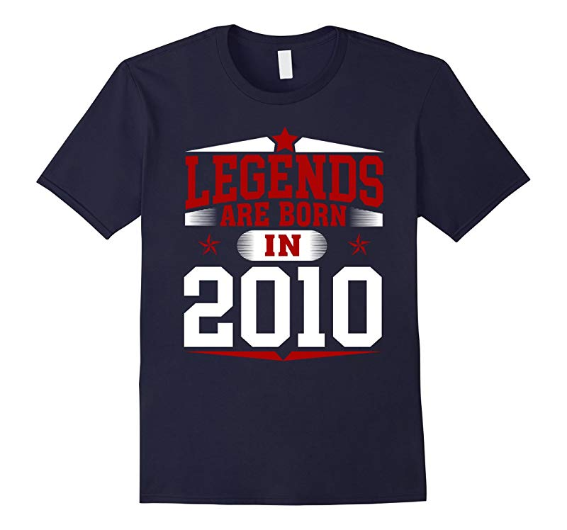 7th Year Old Boy Shirt Legends Are Born In 2010-RT