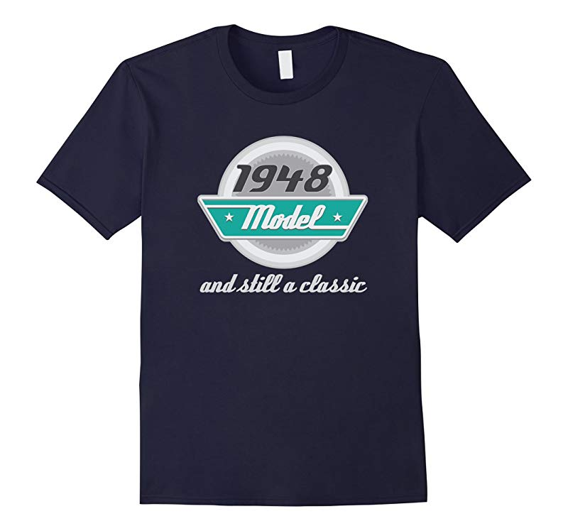 1948 Birth Year Vintage Birthday T-shirt Mens Funny Tee-RT