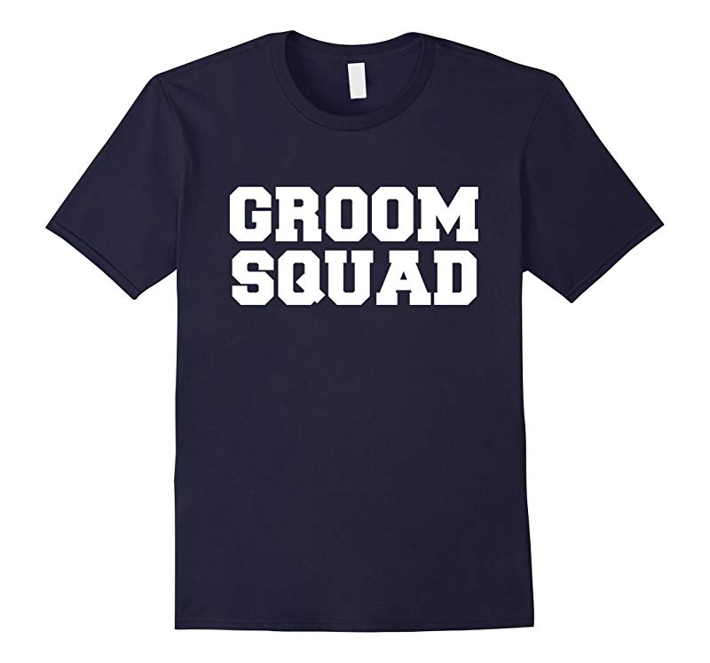 Mens Funny Groom Squad Party Groomsmen Bachelor Party T-shirt-RT
