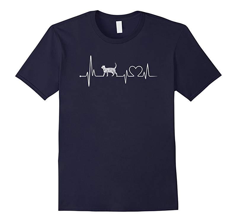 Bengal Cat Love - Heartbeat hot T-shirt-CL