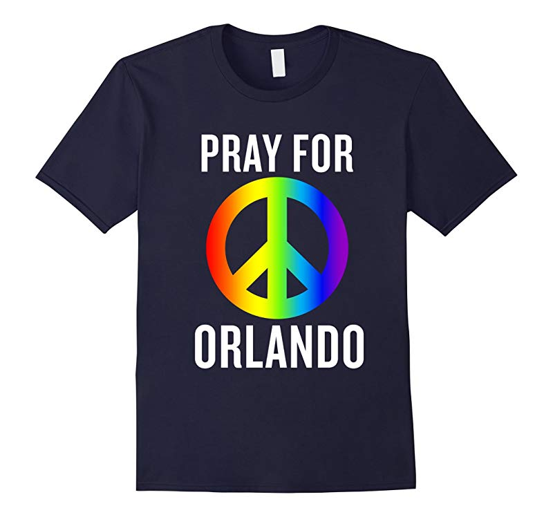 Love Orlando Florida T-shirt for LGBT Gay Pride Pray Month-RT