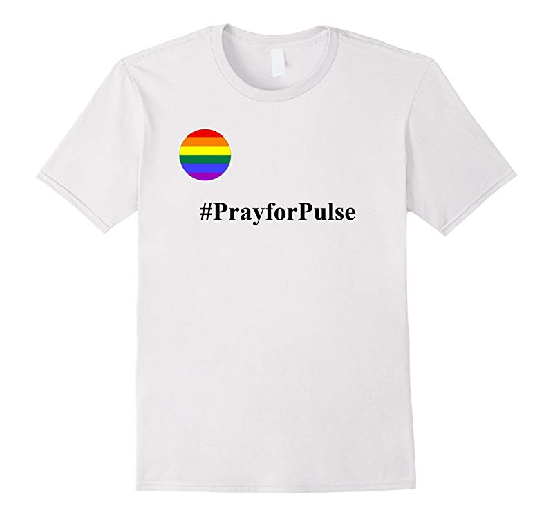 Pray for Pulse T-Shirt Orlando Pulse Shooting Gay LGBT-RT