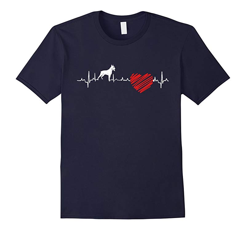 Boxer Heartbeat T-Shirt-RT