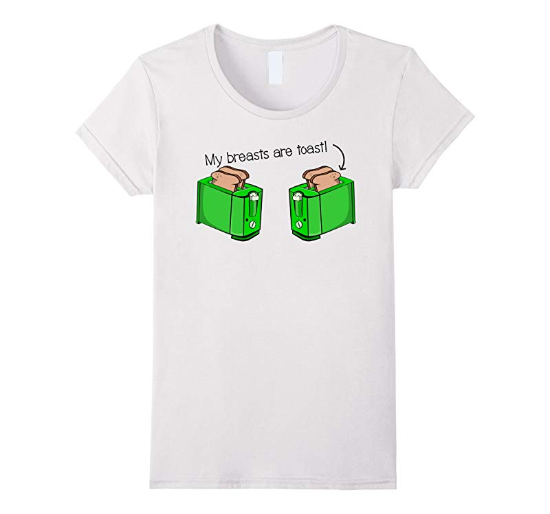 Ladies Cartoon Boobs  Boobies Boob Breasts Funny T Shirt