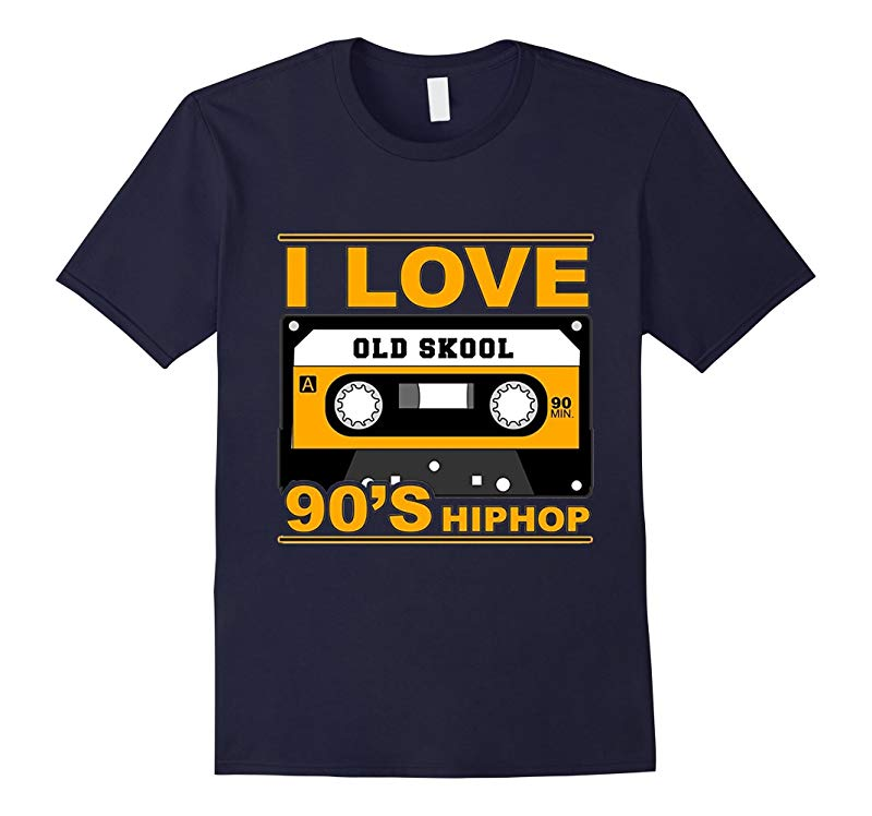 [HOT] I Love Old Skool 90's Hip Hop Music T-Shirt-CL