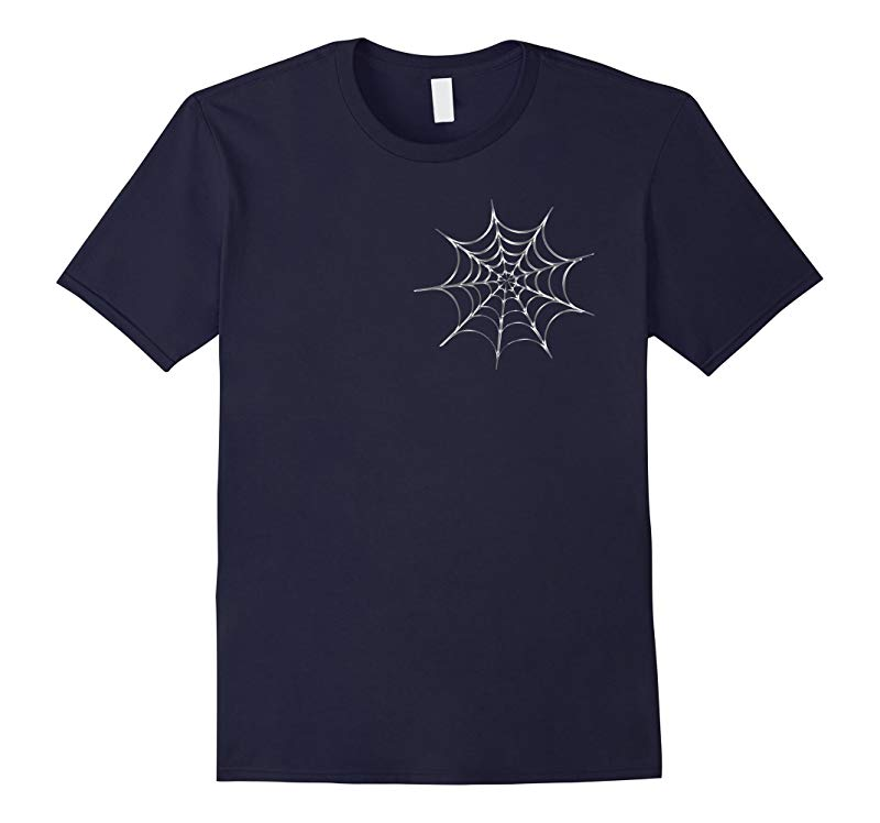 Funny Spider Halloween Web Prank T-Shirt Tee Front  Back-RT