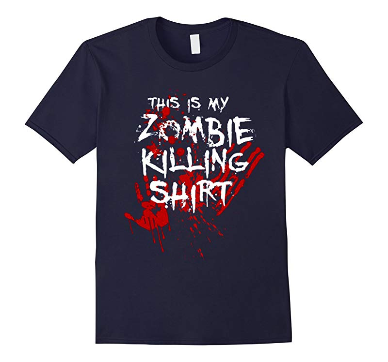 This Is My Zombie Killing - Funny Zombie T shirt-RT