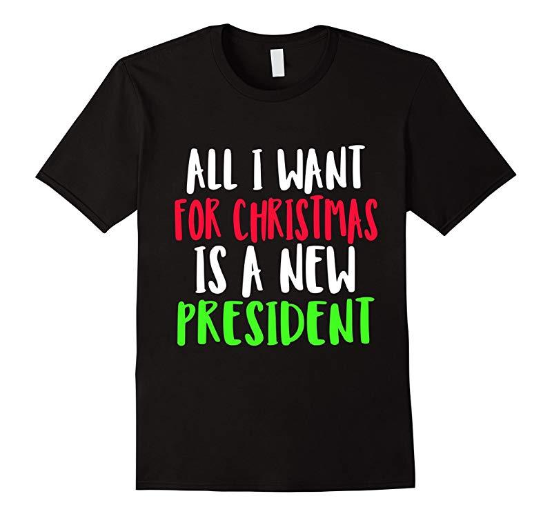 Anti-trump christmas tshirt funny christmas shirts-RT