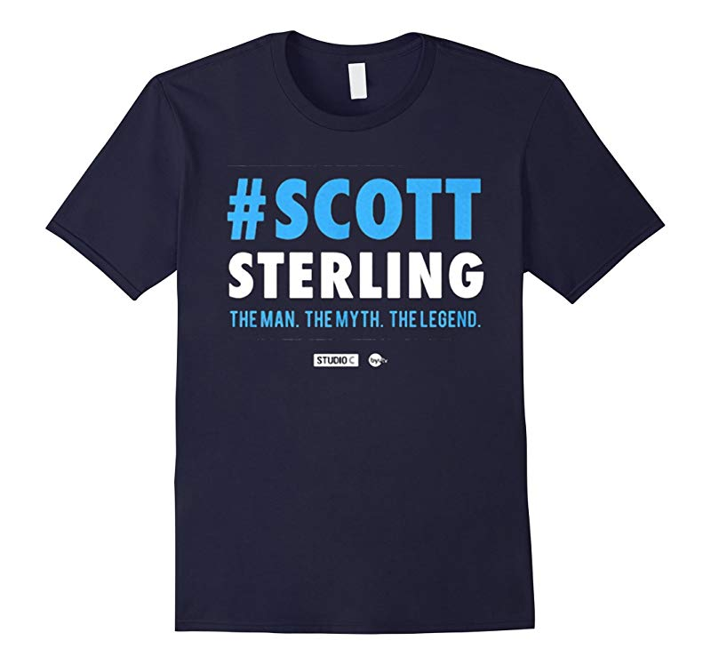 #Scott Sterling - The Man. The Myth. The Legend. T Shirt-Art